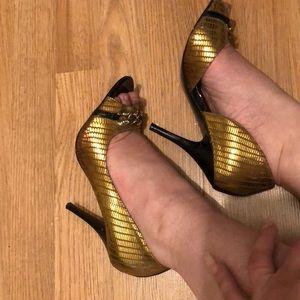 Shoes Gold by Carlos Santana.